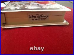 101 Dalmations Walt Disney Black Diamond VHS Classic Collectible tape 1992