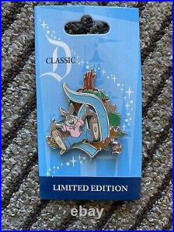 2011 Disneyland Classic D Splash Mountain Brer Rabbit LE 1000 Disney Pin