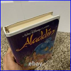 Aladdin (VHS, 1993) RARE BLACK DIAMOND EDITION The Classics Walt Disney OFFERS