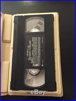 Beauty and The Beast VHS 1992 Walt Disney's Black Diamond Classic