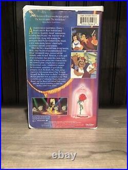 Beauty and the Beast VHS 1992 Walt Disney Classic Black Diamond