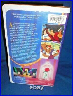 Beauty and the Beast VHS 1992 Walt Disney's Black Diamond Classic Rare
