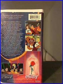 Beauty and the Beast VHS1992 Walt Disney's Black Diamond Classic