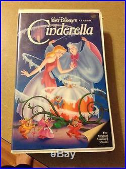 Cinderella Walt Disney (VHS)The Classics Black Diamond Collection