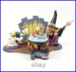 Complete Set WDCC Disney Trick or Treat Witch Hazel Halloween In Box With COA