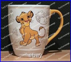 ^ DISNEY Store MUG DISNEY CLASSICS SIMBA COFFEE CUP NEW