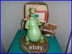 DISNEY WDCC Pete's Dragon A Boy's Best Friend Elliott NIB COA