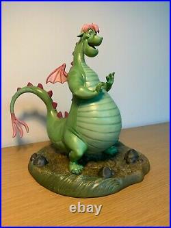 DISNEY WDCC Pete's Dragon A Boy's Best Friend Elliott NIB COA 304/750