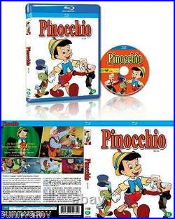Disney Blu Ray Boxset 11 Classic Films Pinocchio Peter Pan Snow White Alice