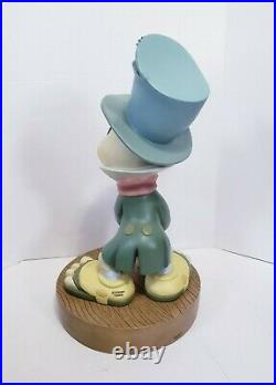 Disney Classic Pinocchio Jiminy Cricket Big Fig Figure Statue with Base