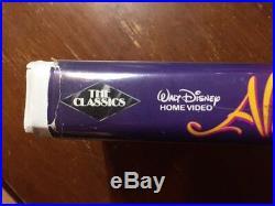 Disney Diamond Classic Rare Aladdin Vhs 1993