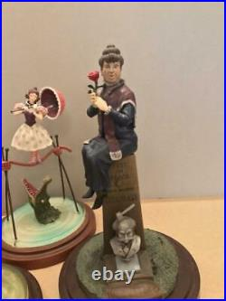 Disney Haunted Mansion Figure 4 Set Collection Limited from Japan USED