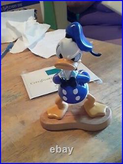 Disney Limited Donald Duck! #@ Orphans Benefit WDCC