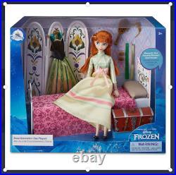 Disney Store Anna Classic Doll Coronation Day Play Set Frozen