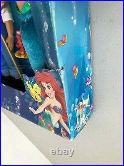 Disney Store The Little Mermaid Deluxe Classic Doll Gift Set 8pc Vanessa Ursula