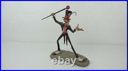 Disney WDCC 4019505 Princess and the Frog Dr. Facilier Sinister Shadow Man withCOA
