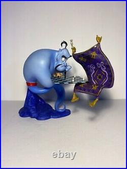 Disney WDCC Aladdin I am Losing to a Rug Genie Figure 1998