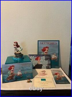 Disney WDCC Classic Seaside Serenade Ariel Figurine from The Little Mermaid