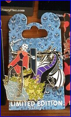 Disney WDI Nightmare Classics Jack in Sleeping Beauty LE 300 Pin Maleficent NBC