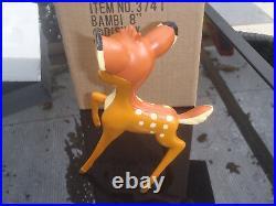 Extremely Rare! Walt Disney Bambi Classic Figurine Statue