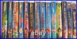 Lot of 76 Walt Disney VHS Tapes Black Diamond Classics, Masterpieces + 1 Bonus