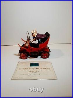 Mr Toads Wild Ride Wdcc figurine w box and COA (Mint)