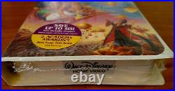 NEW! Walt Disney Classic Aladdin Black Diamond VHS Movie #1662 Aladin