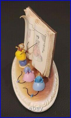 Olszewski Cinderella We can do it Disney Figurine LE 1,500 Rare MINT