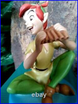 PETER PAN WDCC FOREVER YOUNG DISNEY FIGURINE, Brand New, MIB withlitho and COA