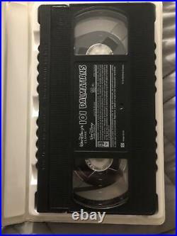RARE Black Diamond Classics 101 Dalmatians Walt Disney (VHS, 1992) #1263