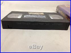 RARE Walt Disney's Beauty and The Beast VHS 1992 Black Diamond Classic LEAD VHS