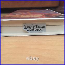 RARE Walt Disneys Aladdin Black Diamond Classic VHS #1662