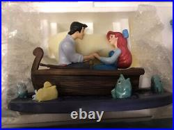 Rare NLE WDCC The Little Mermaid Kiss the Girl withBox and Sealed COA