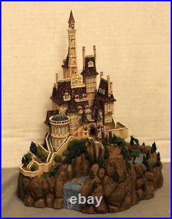 The Beast's Castle DISNEY WDCC Enchanted Places Beauty & The Beast NO WOOD BASE