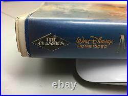 The Little Mermaid Walt Disney Classic Black Diamond Banned Cover VHS, 1990