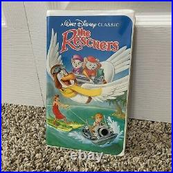 The Rescuers VHS Black Diamond Edition Walt Disney Classic Authentic Rare Offers