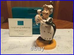 WDCC 101 Dalmatians Nanny Cook Look, Here's Lucky! + Box/COA