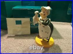 WDCC 101 Dalmatians Nanny Cook Look, Here's Lucky! + Box & COA