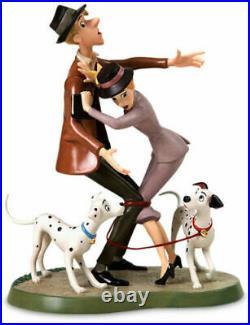 WDCC 2006 Gold Circle Roger & Anita, Pongo & Perdita 101 Dalmatians Ltd 1,000