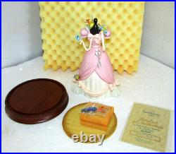 WDCC A LOVELY DRESS FOR CINDERELLY CINDERELLA DRESS With MINIATURES LE 4359/5000