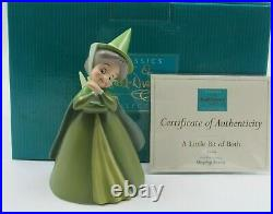 WDCC A Little Bit of Both Fauna from Disney's Sleeping Beauty in Box with COA