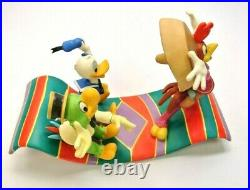 WDCC Airborne Amigos Donald Duck, Jose Carioca and Panchito with Box & COA
