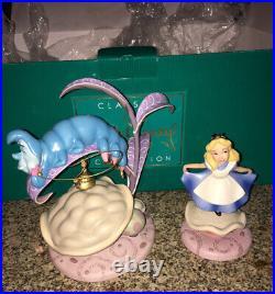 WDCC Alice In Wonderland Caterpillar Who R U & Alice Properly Polite MIB