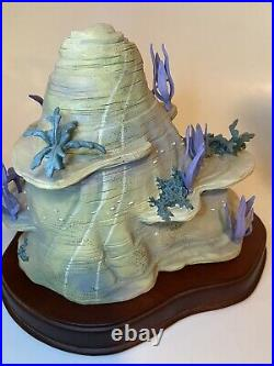 WDCC Ariel's Secret Grotto Enchanted Places in Original Box with COA