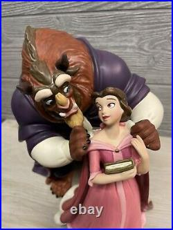WDCC Beauty & The Beast'A New Chapter Begins' #450/1500 Excellent Condition