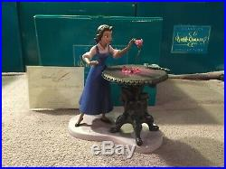 WDCC Beauty and The Beast Belle Forbidden Discovery + Box & COA