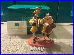 WDCC Beauty and The Beast The Curse is Broken Lumiere & Cogsworth + Box & COA
