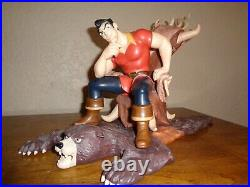 WDCC Beauty and the Beast Gaston Scheming Suitor Walt Disney + Box and COA MINT