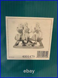 WDCC Beauty and the Beast Le Fou Tavern Girls Sitting Pretty + BOX/COA Disney