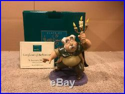WDCC Beauty and the Beast Maurice & Lumiere Is Someone There + Box & COA